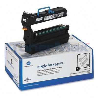 KONICA MAGICOLOR 5440DL TONER CART BLACK 12K